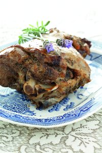 Leg of Lamb with Lavender